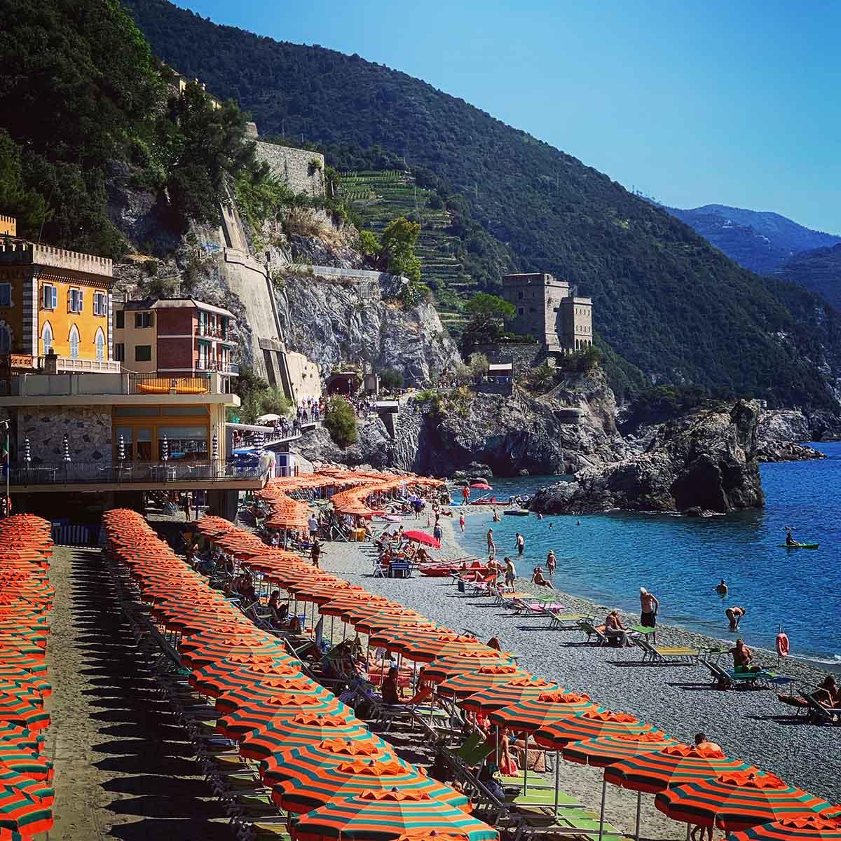 Monterosso al Mare in Cinque Terre, Italy