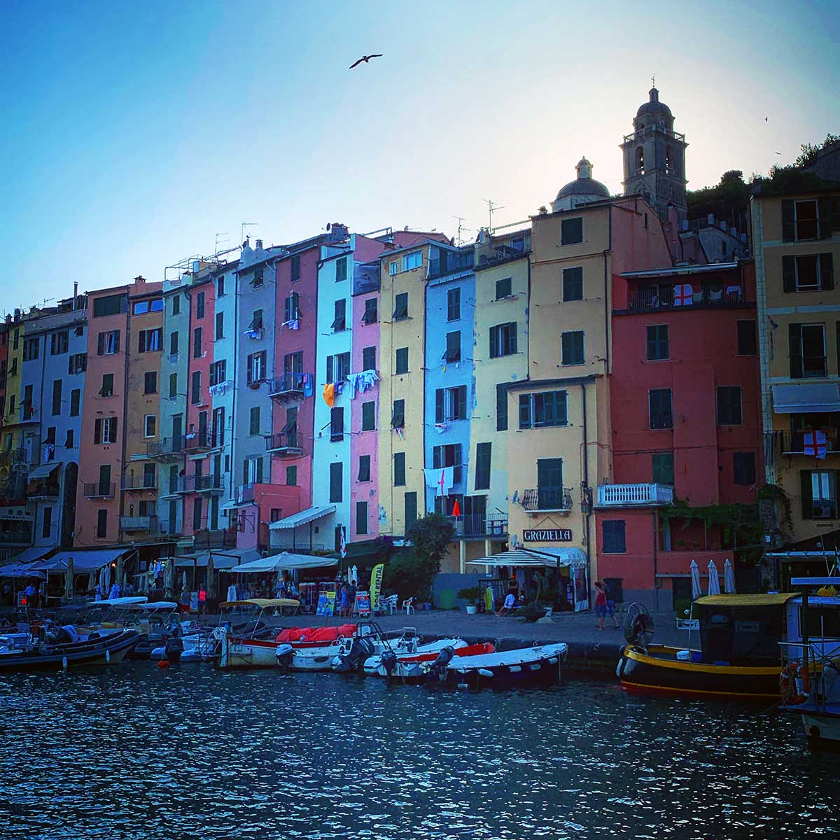 Porto Venere waterfront homes
