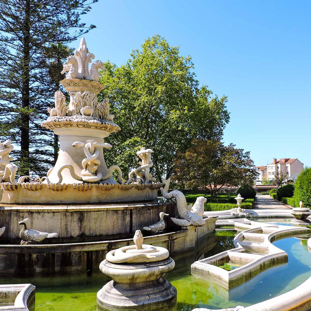 Jardim Botanico da Ajuda in Belem