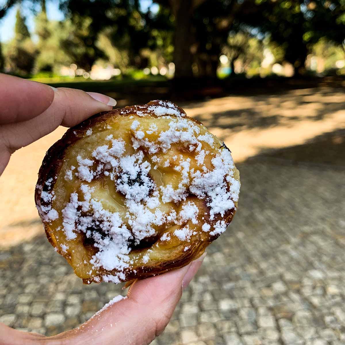 Pasteis de nata in Belem, Lisbon (Yum!)