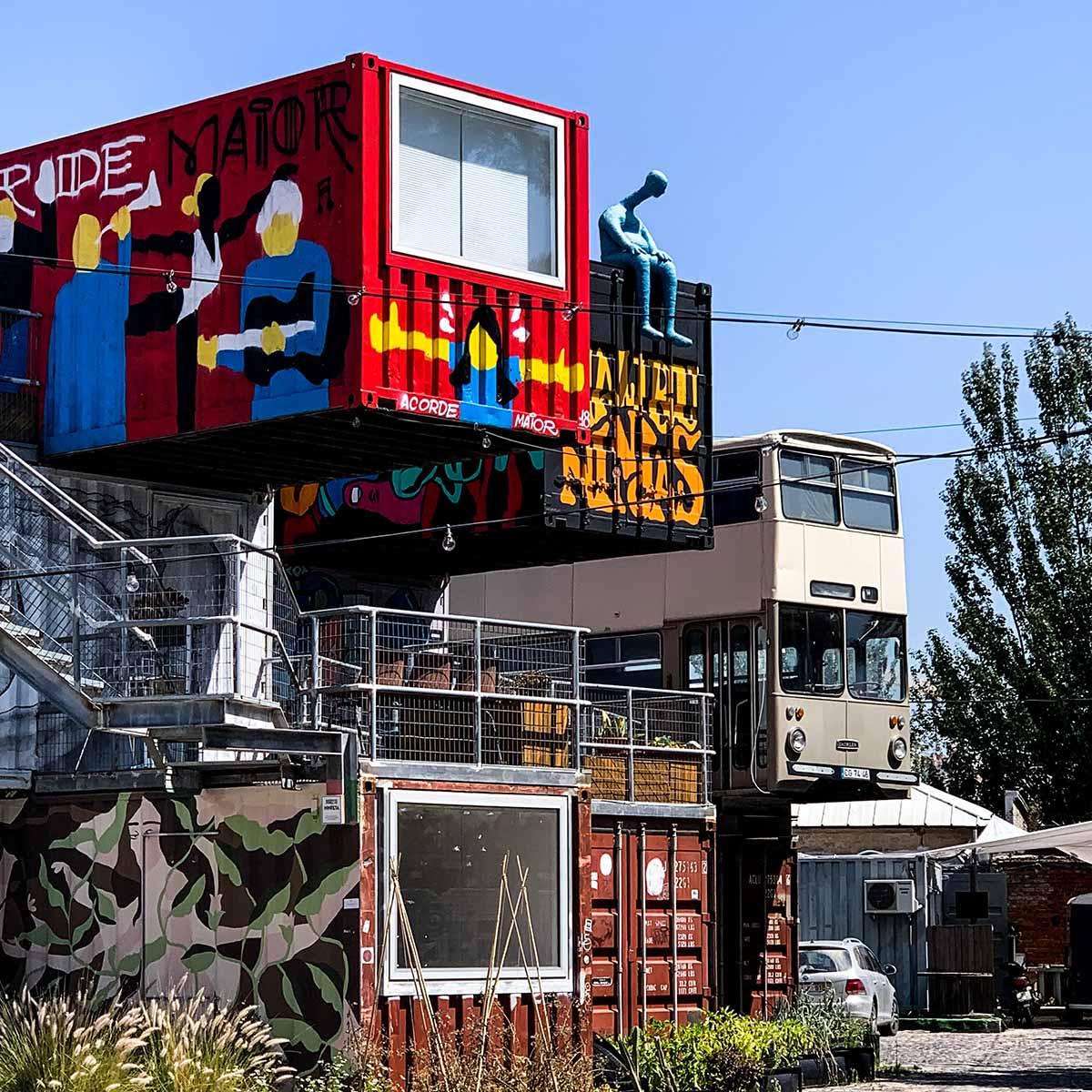 The Village Underground art center in Belem