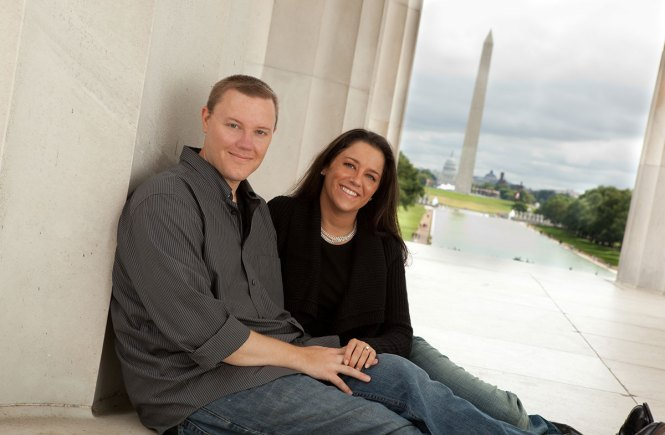 Adventure Partners For Life at Lincoln Memorial