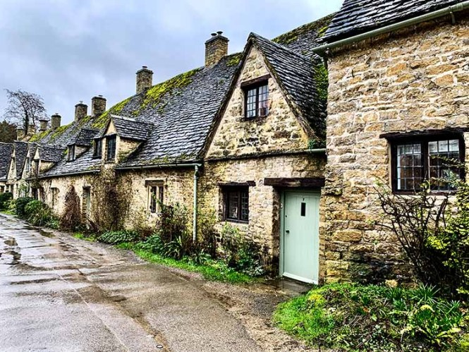 Arlington Row in the Cotswolds on our UK road trip