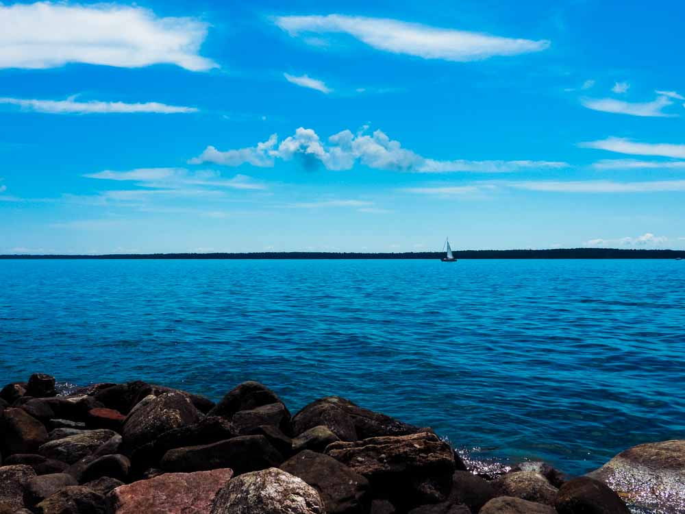 Lake Superior in Wisconsin