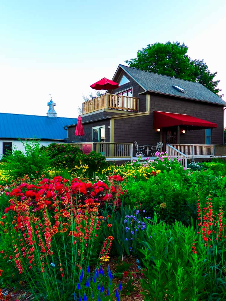 Bright Bayfield, Wisconsin home