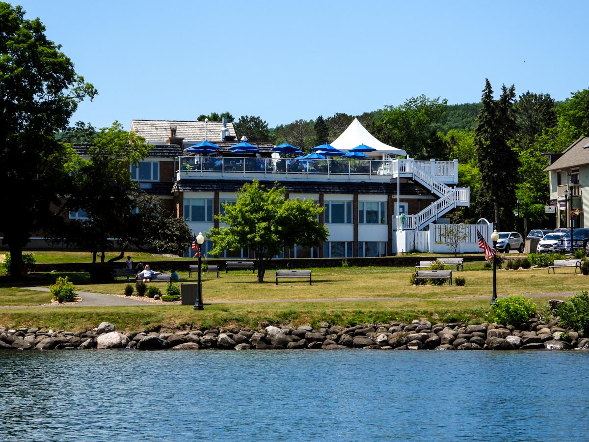 Bayfield Inn from the water