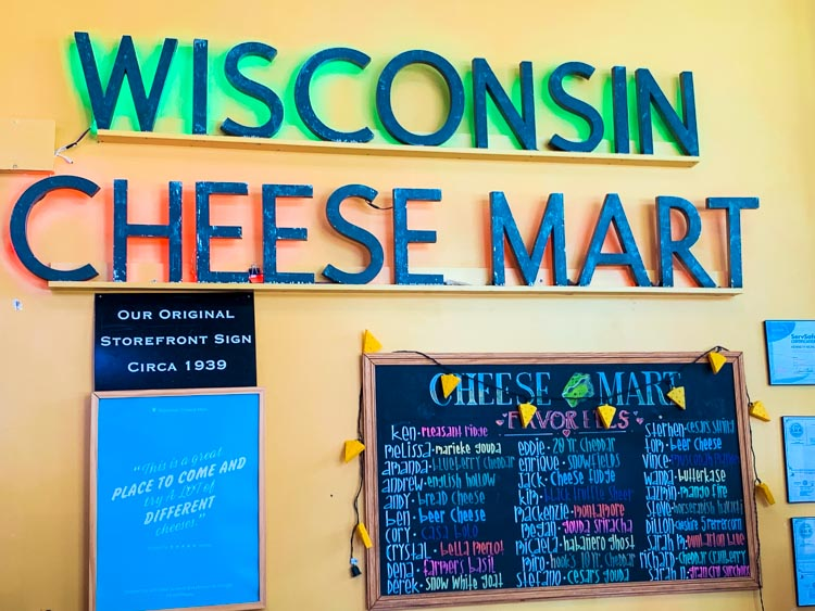 Milwaukee Cheese Mart wall decor