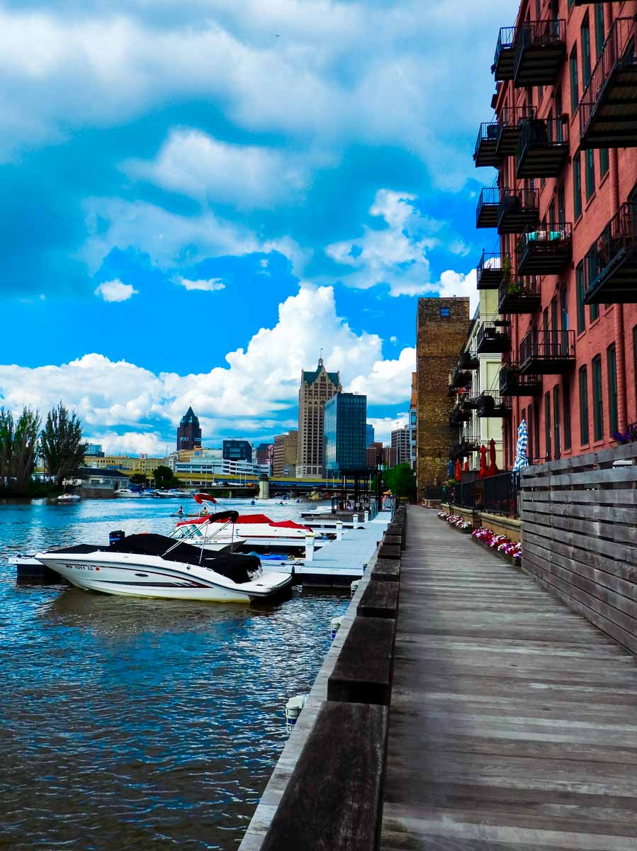 Milwaukee's Riverwalk