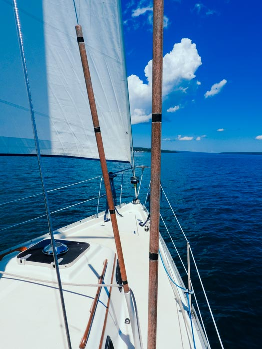 Sailing in the Apostle Islands