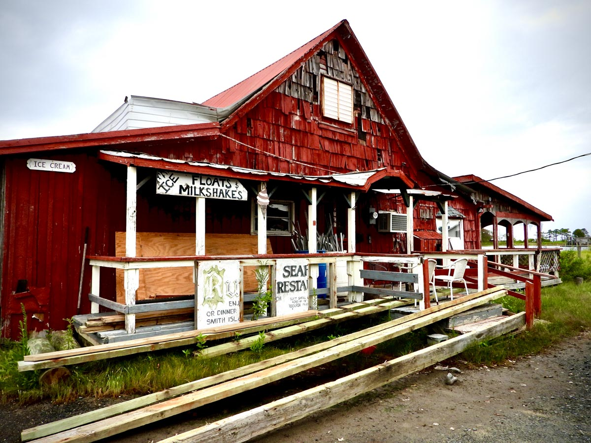 Old shop on Smith Island