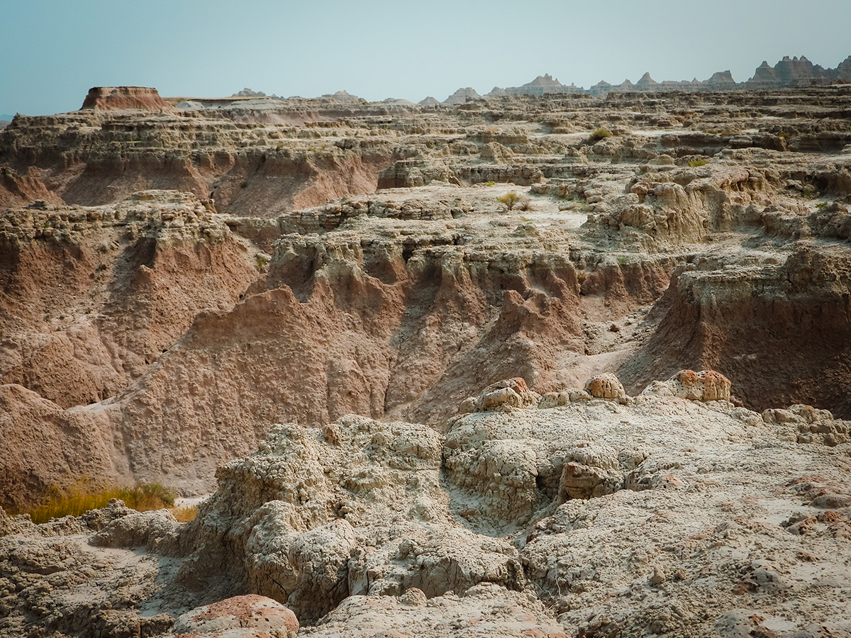 Another Badlands view