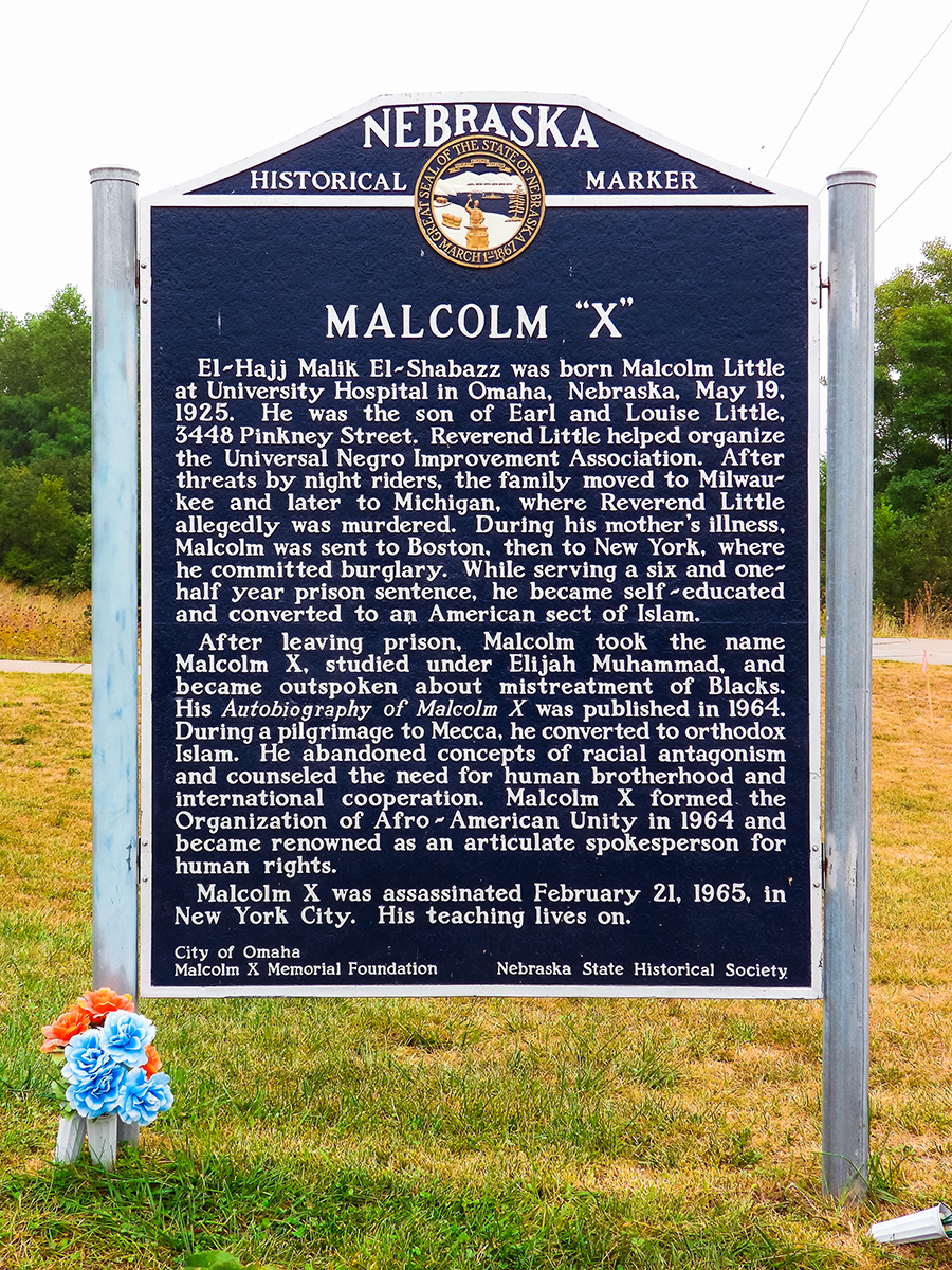 Malcom X birthplace