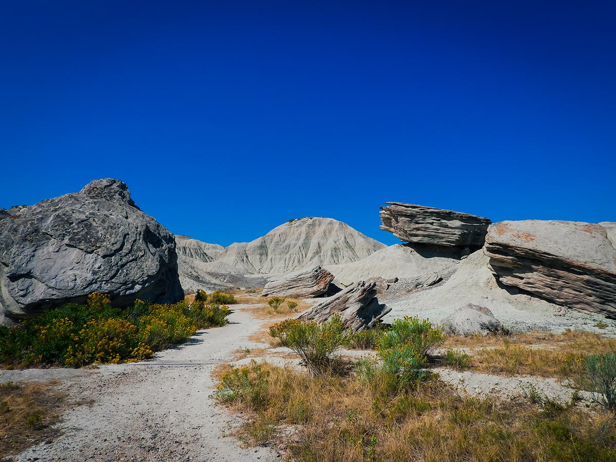 Toadstool Geologic Park in Nebraska