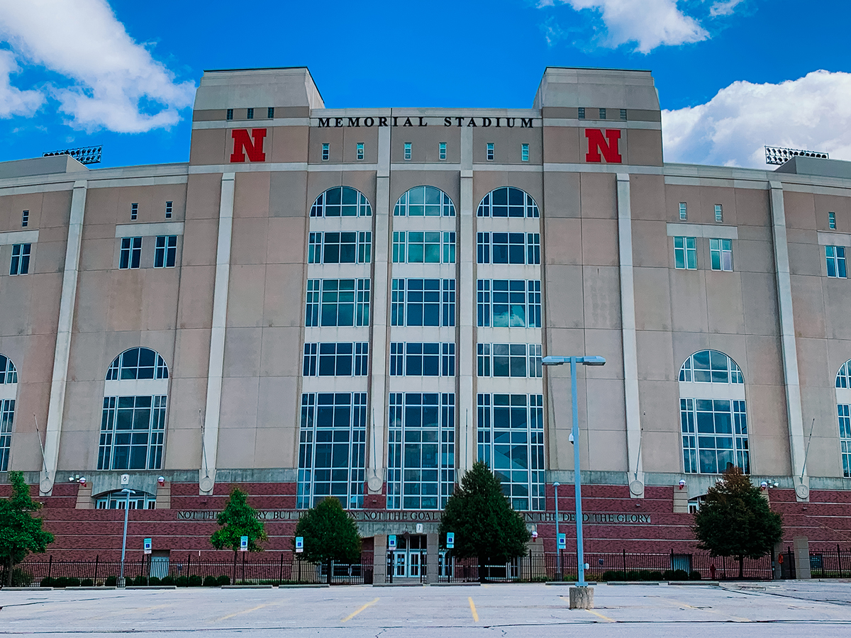 University of Nebraska stadium