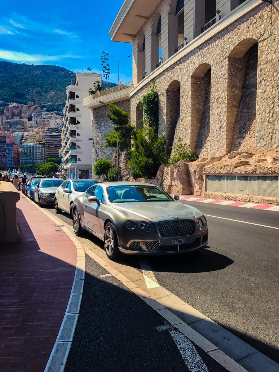 Bentley in Monaco