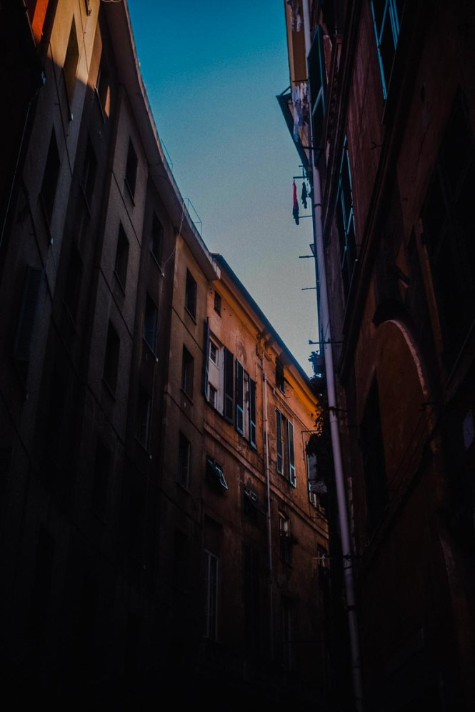 Buildings in Genoa, Italy