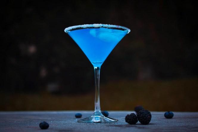 Jack Frosty Christmas Cocktail