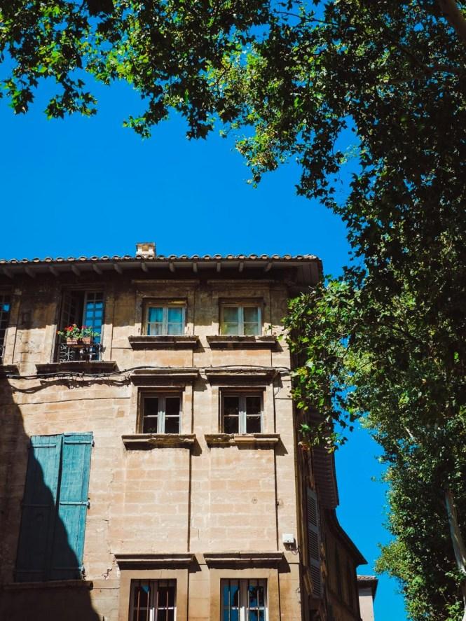 Window in Avignon, France