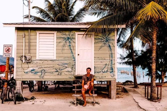 Fishing shed in Caye Caulker, Belize