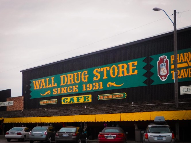 For things to do in South Dakota, visit Wall Drug.