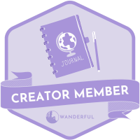 Wanderful Creator badge