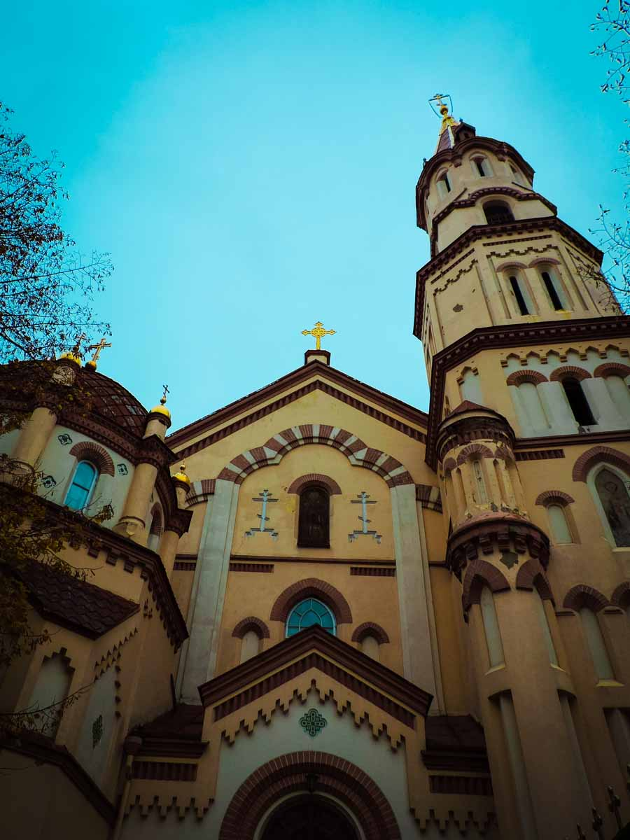 St. Nicholas Church in Vilnius, Lithuania