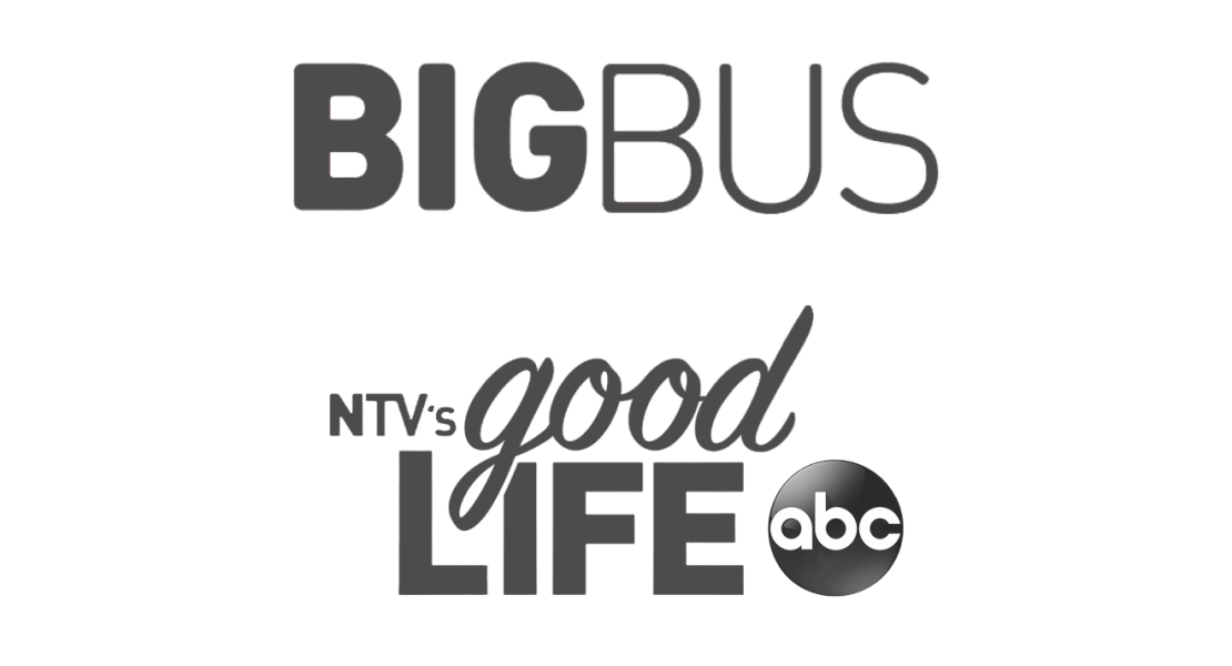 You might know me from Big Bus Tours and NTV's Good Life on ABC
