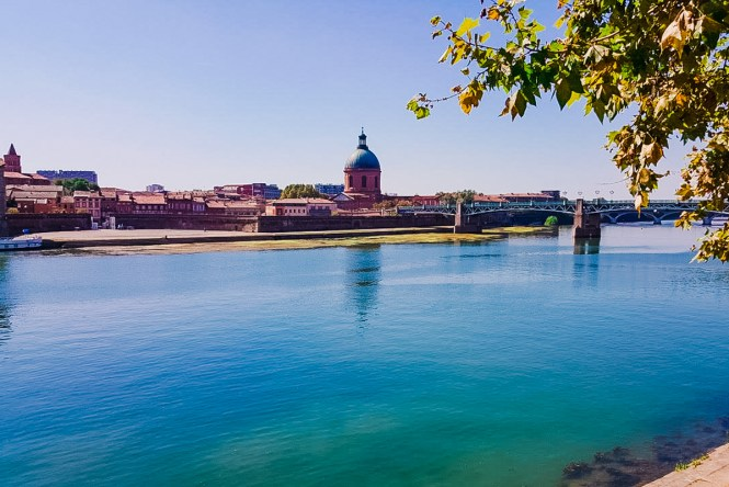 Panoramic of Toulouse