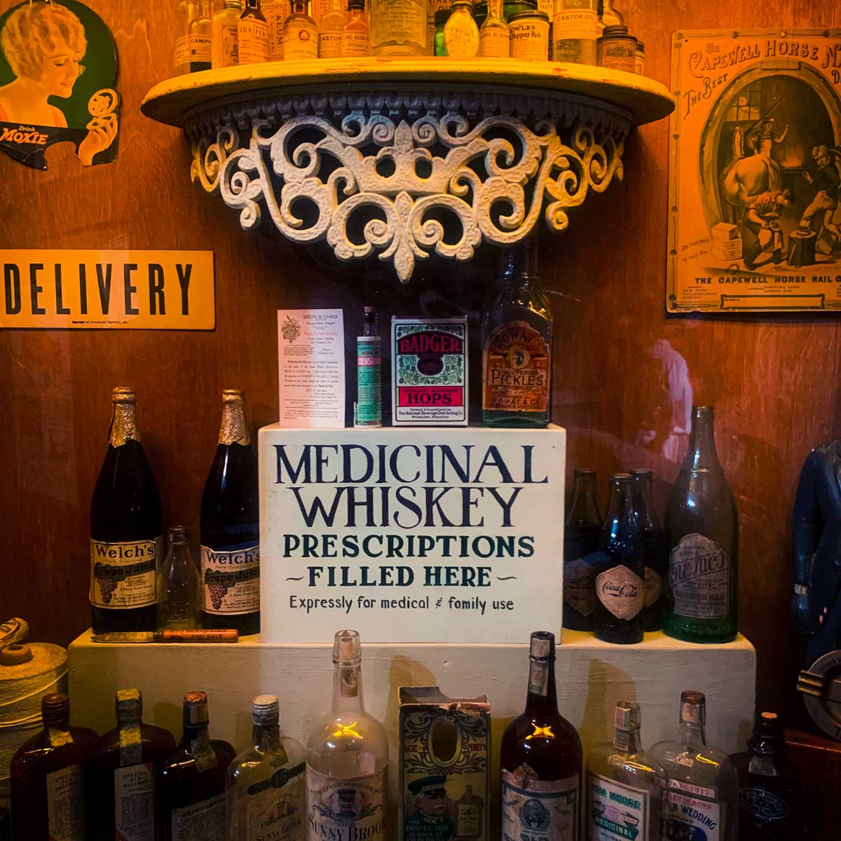 Medicinal whiskey during the Prohibition