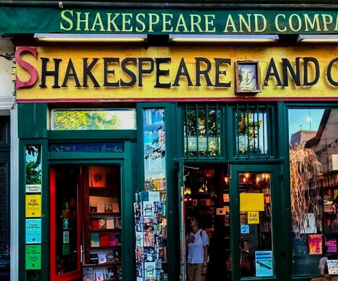 Shakespeare & Company Bookstore, one of many unique things to do in Paris