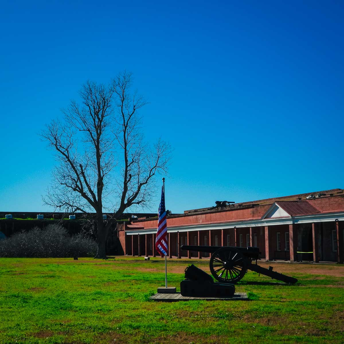 Fort Pulaski, just one of many things to do in Savannah, Georgia