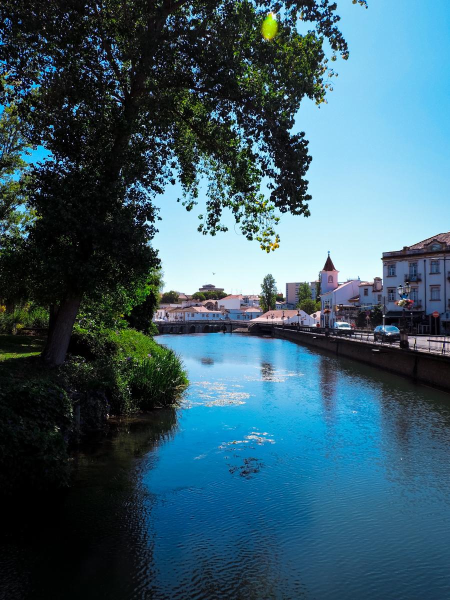 Picturesque bridge of Tomar