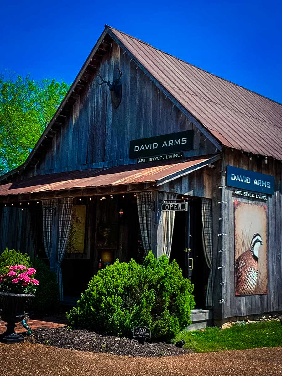 David Arms Gallery in Leiper's Fork