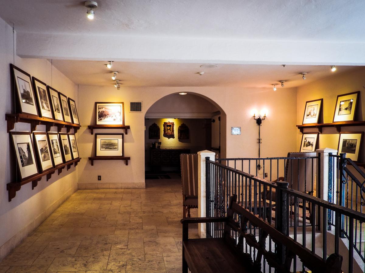 Elevator area in St Francis Hotel in Santa Fe