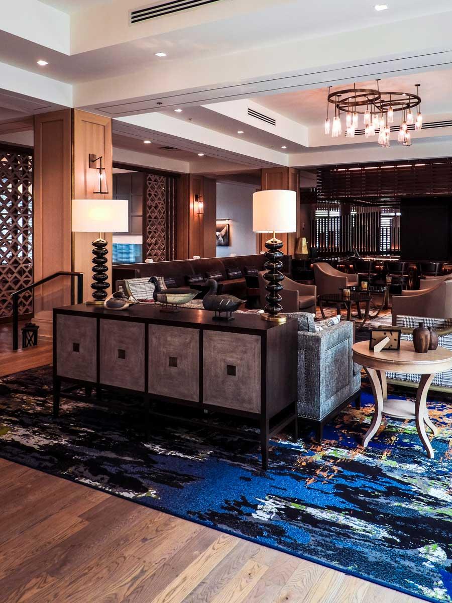 Franklin TN Harpeth Hotel lobby
