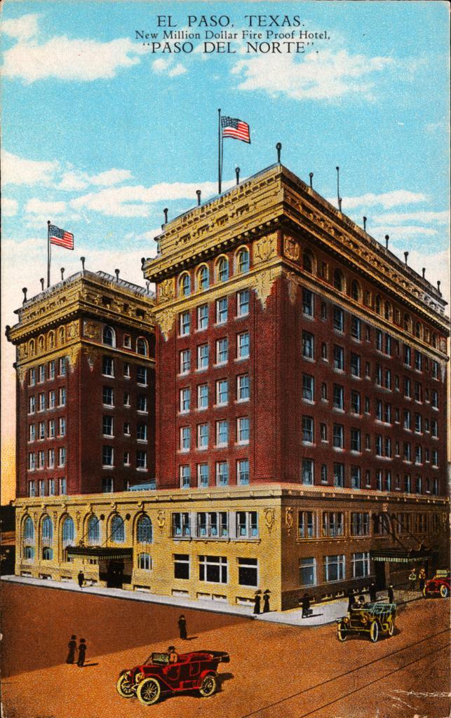 Historic Hotel Paso Del Norte exterior