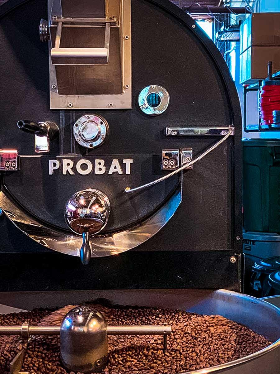 Honest Coffee coffee beans roasting
