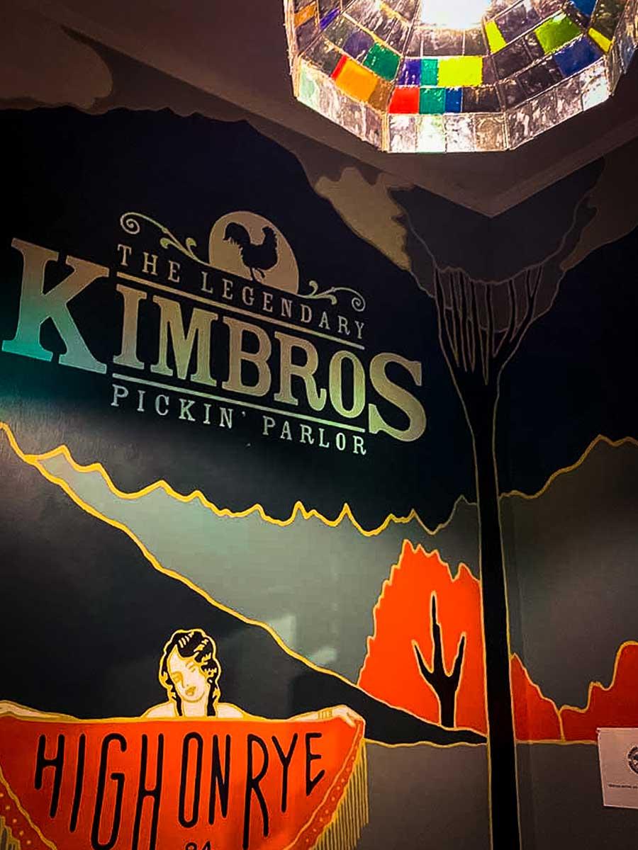Kimbros Pickin' Parlor wall art