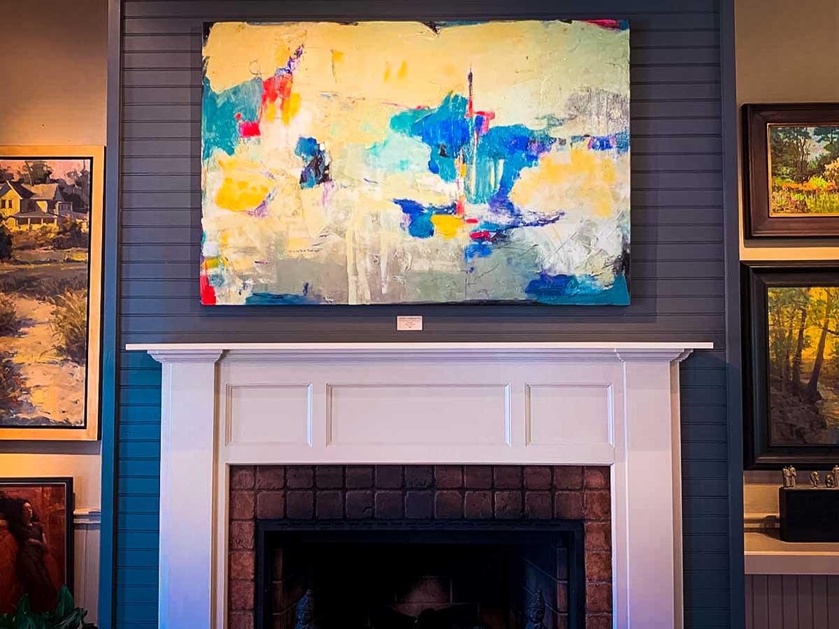 Leiper's Creek Gallery mantle
