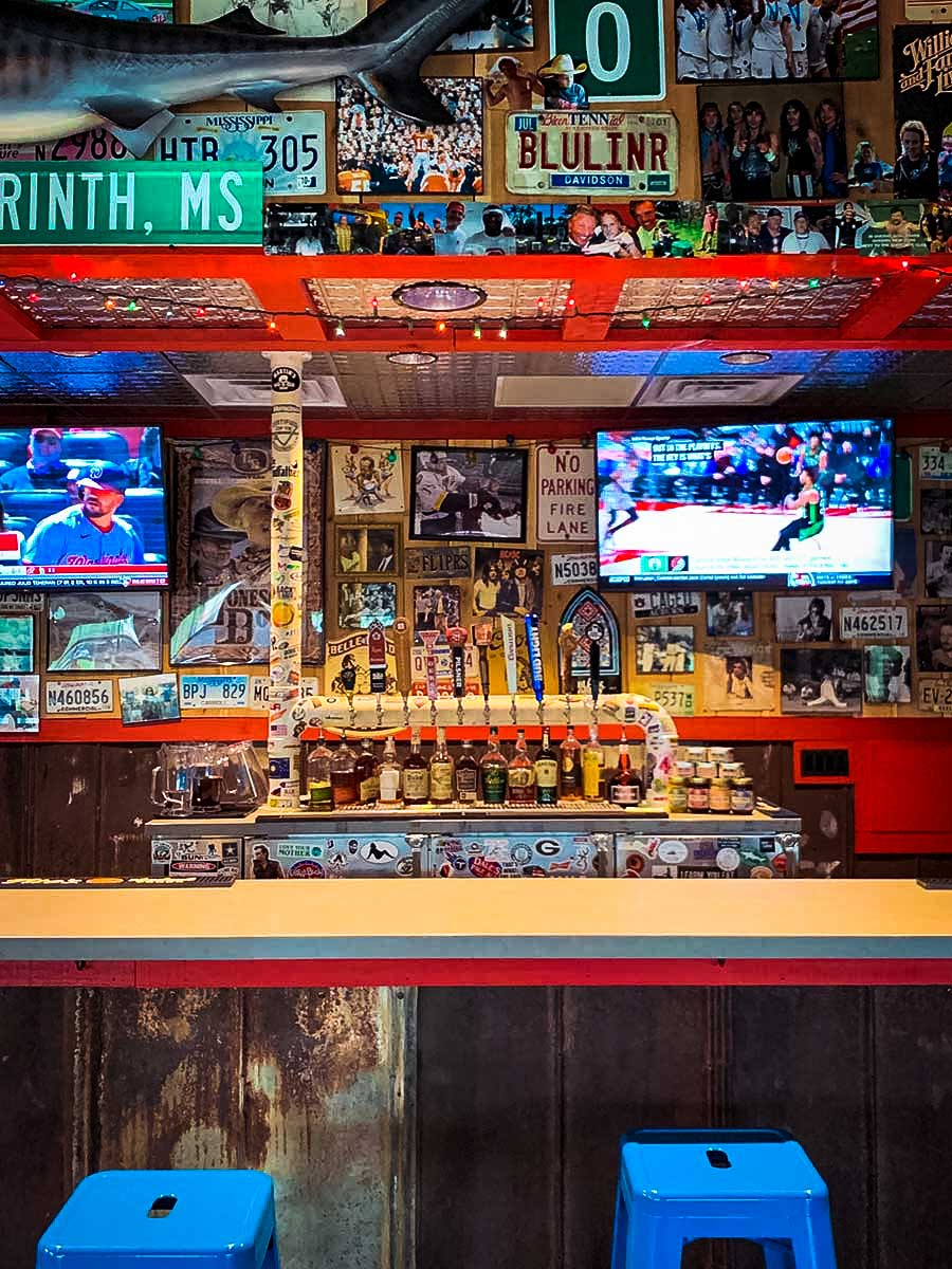 Martin's BBQ bar, one of many awesome things to do around Franklin, TN