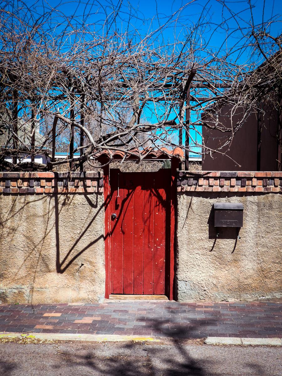 Santa Fe hotel red door
