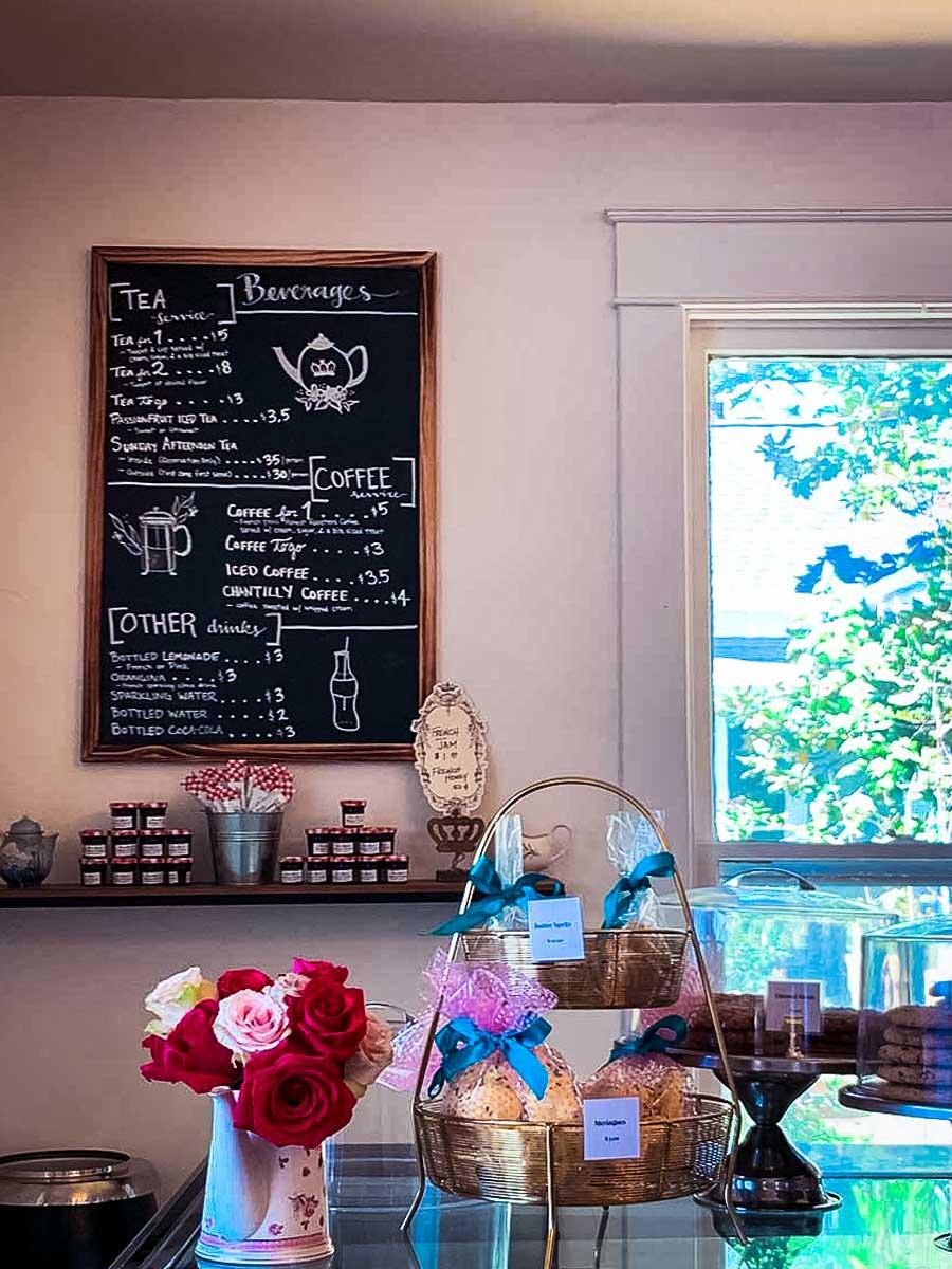 Triple Crown Bakery dessert menu