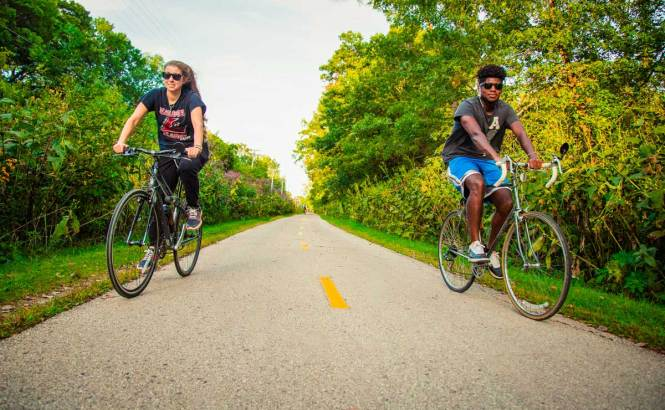 all the bike trails, just one of many awesome things to do in madison wisconsin