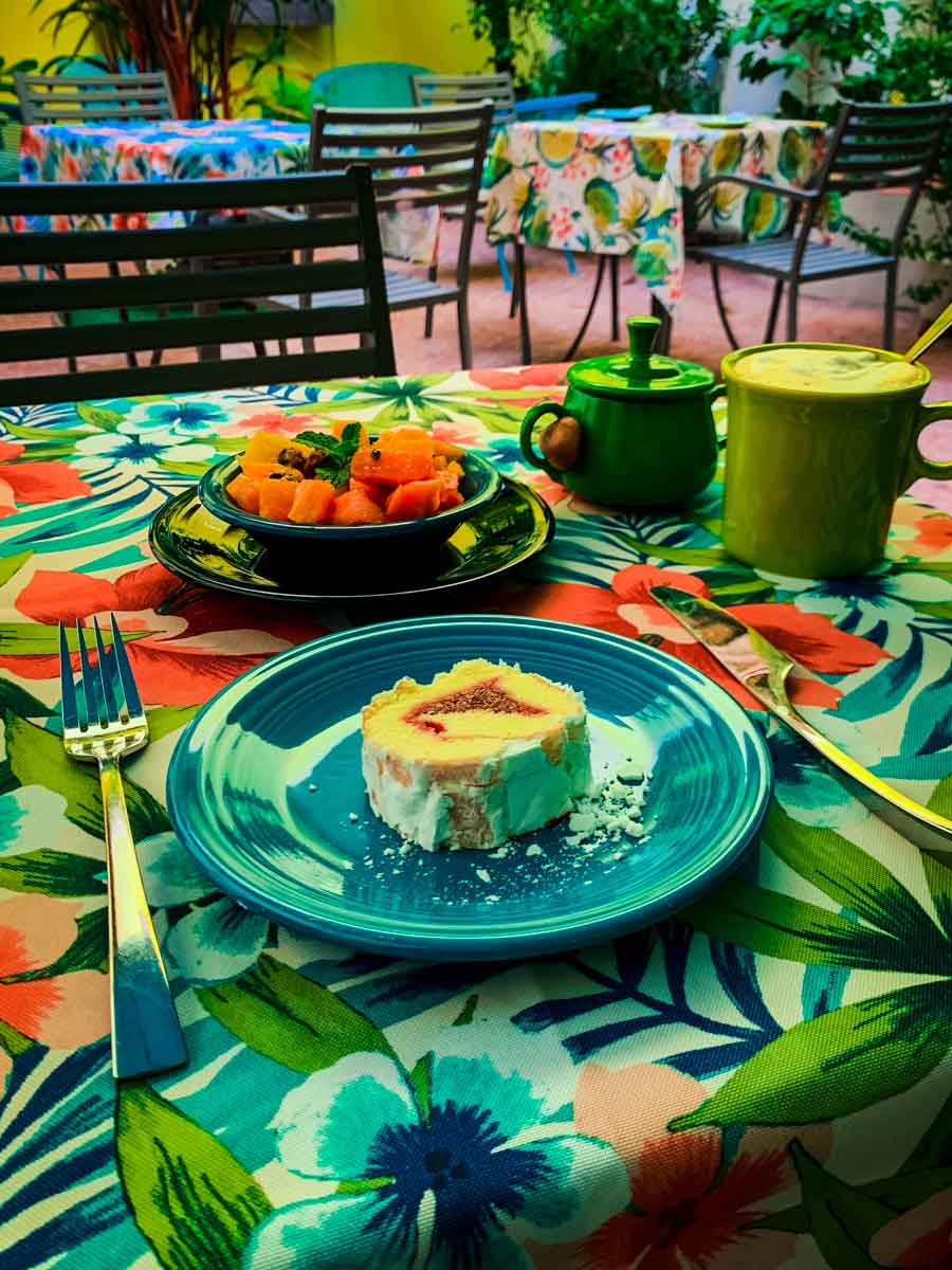 Casa Sol B&B in Old San Juan, breakfast