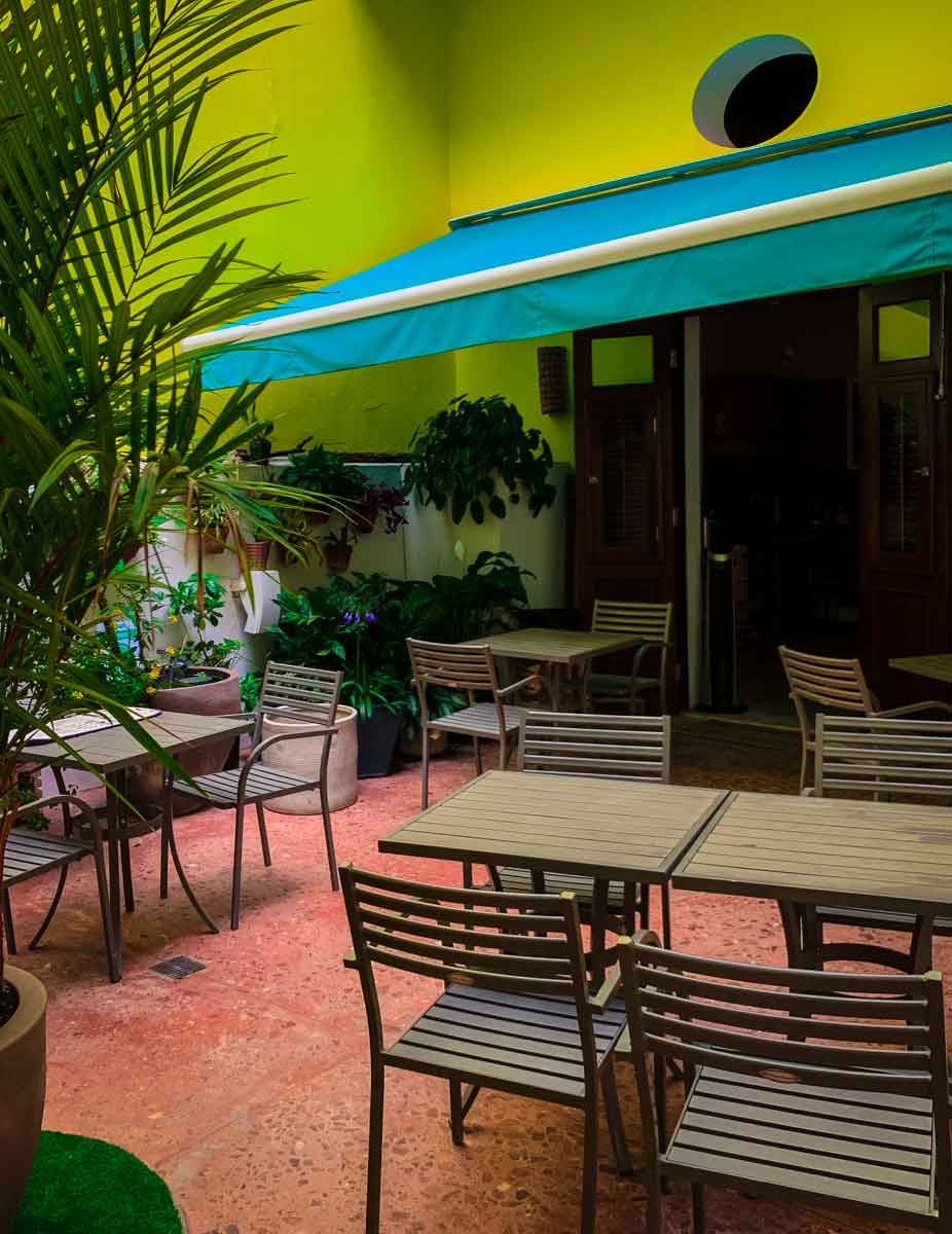 Casa Sol dining area