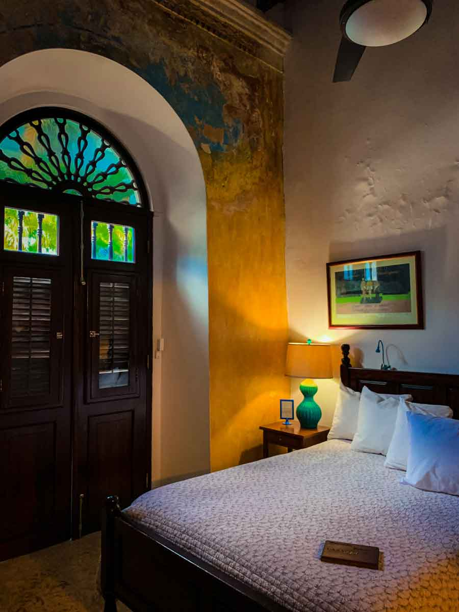 Casa Sol B&B in Old San Juan, room