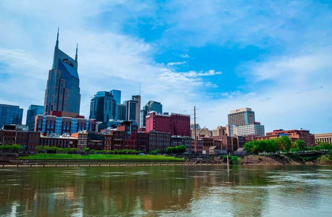 Downtown Nashville skyline