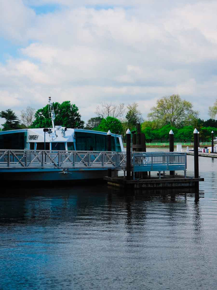 the odyssey boat for our brunch in dc