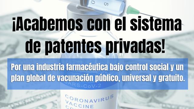 Más de 350 personalidades de todo el mundo prestan su apoyo al Manifiesto ¡Acabemos con el sistema de patentes privadas!
