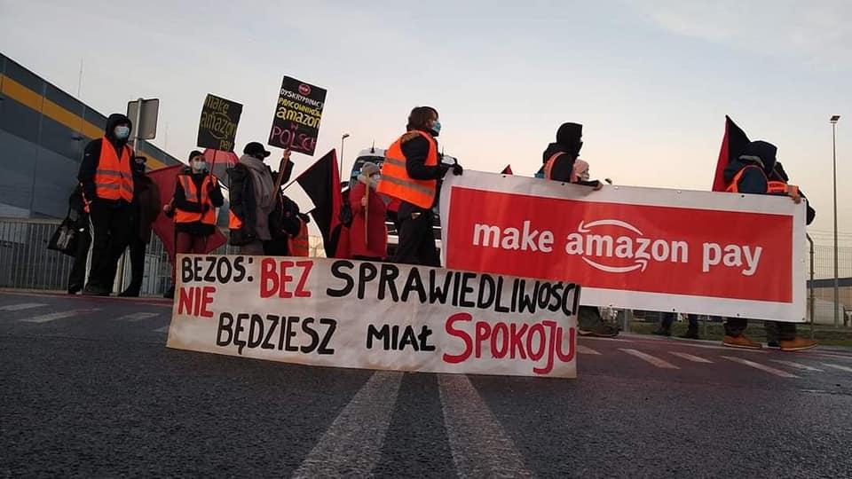 Faire reculer Amazon ! En Pologne les travailleur·euse·s s'organisent